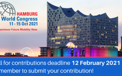 ITS World Congress 2021: Deadline for Call for Contributions extended