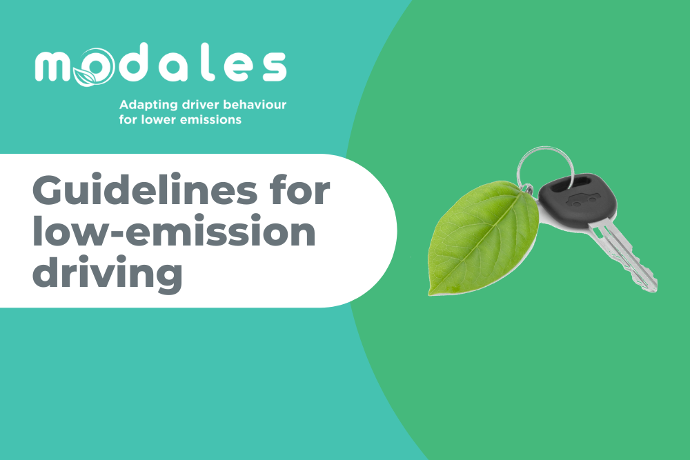 New guidelines on low-emission driving are now available
