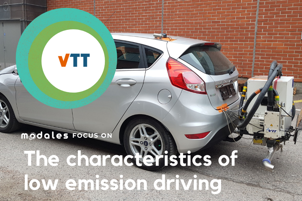 Shaping the characteristics of low emission driving with MODALES member VTT