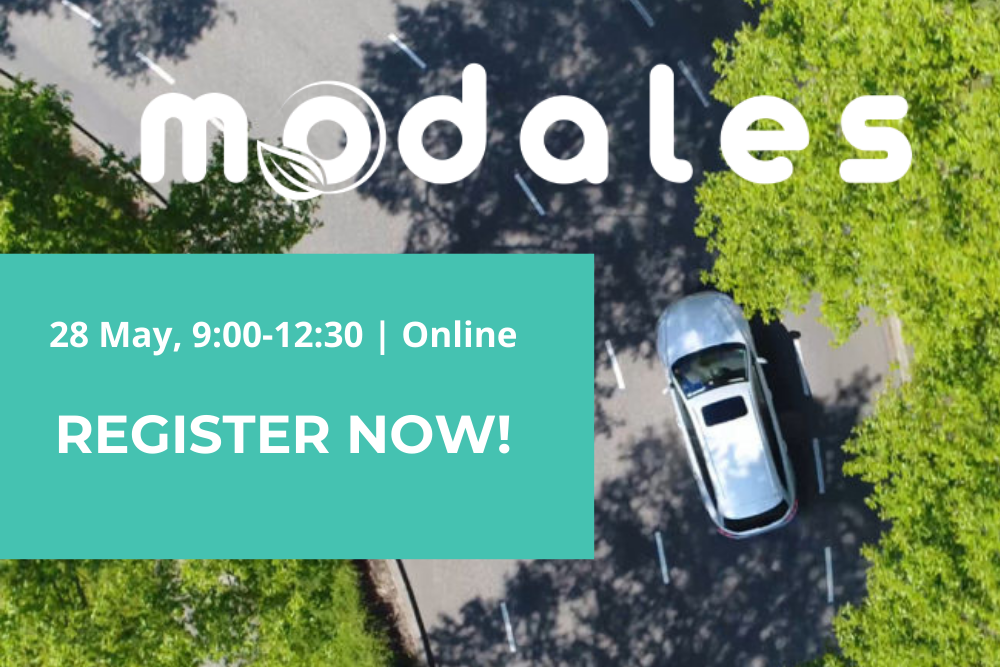 "Registrations are open for MODALES' ""Mid-term results on the road to low emissions"""